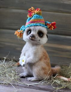 BoredPanda  http://www.boredpanda.com/adorable-wool-animals-tatiana-barakova/  Татьяна Баракова  My name is Tatyana. I live in Russia, in the beautiful city of St. Petersburg. Since 2006, I engaged in manufacturing animal wool needle felting technique. My love for animals became the main source of my inspiration.  My toys are made of 100% sheep wool, using glass eyes with much thoroughness. This is a rather a difficult job and I spend about two weeks manufacturing one toy