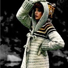 Crochet Pattern, Crochet Jacket Pattern, Crochet Hooded Jacket Pattern, Crochet PDF Pattern, Crochet Instant Download Hooded Jacket Pattern
