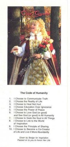 Bodge's Code of Humanity