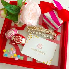 Bracelets in wood with a fabulous MONOGRAM from Frill Seekers make perfect gifts.  Visit our website by clicking photo!