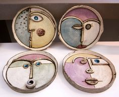 Hottest No Cost Ceramics sculpture wall Popular ANASTASAKI Kleine Wandskulpturen Wandkleinkompositionen von … Ceramic Wall Art, Ceramic Clay, Ceramic Pottery, Pottery Kiln, Keramik Design, Hand Built Pottery, Ceramics Projects, Sculpture Projects, Sculpture Clay