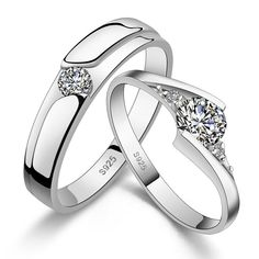 Matching Wedding Band Sets for Her and His