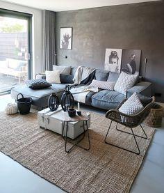 home decor living room diy ideas Home Living Room, Interior Design Living Room, Living Area, Living Room Designs, Living Room Decor, Lohals, Room Inspiration, House Design, Home Decor