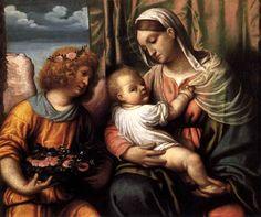 Moretto da Brescia - Virgin and Child - 1540s. Pinacoteca di Brera, Milan