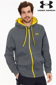Under Armour Grey Storm Full Zip Hoody at next