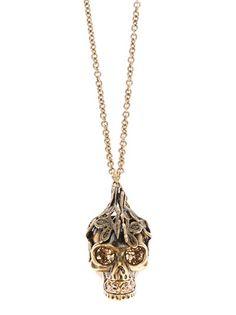 ALEXANDER MCQUEEN - skull pendant necklace 4
