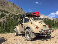El Burro: The Overland Bug - Expeditionsportal - jeep - superschnelle Autos Vw Baja Bug, Vw Classic, Off Road Adventure, Best Muscle Cars, Vw Camper, Volkswagen Bus, Camping Life, Vw Beetles, Pick Up