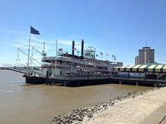 New Orleans. Mississippi River and riverboat. Mississippi, Sailing Ships, New Orleans, Boat, In This Moment, Pictures, Dinghy, Boats, Sailboat