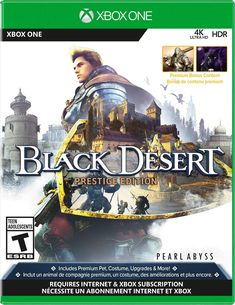 Black Desert: Prestige Edition Playstation, Ps4, Internet, Xbox One Spiele, Black Desert Online, Game Release Dates, Adolescents, The Prestige, How To Find Out