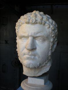 Caracalla (Head) - Museo Montemartini, Rome