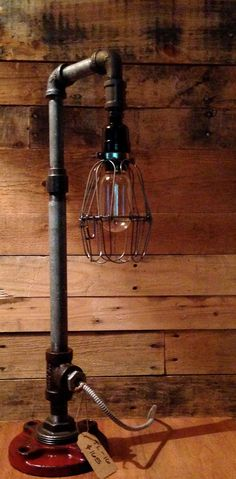 Industrial Gas pipe Table Lamp / Desk lamp TL-16 by 5280made