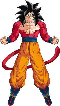 Goku render 5 [Bucchigiri Match] by on DeviantArt Dbz Super Manga, Broly Ssj4, Super Saiyan 4 Goku, Evil Goku, Dbz Characters, Dragon Ball Gt, Drawing, Comic Art, Character Design