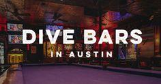 Dive Bars in Austin