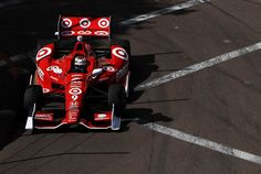 Scott Dixon of New Zealand, drives the #9 Target Chip Ganassi Racing Honda