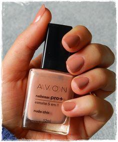 Nude Chic, Avon nail pro+ esmalte 5 em 1