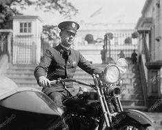 Police Riding Harley Davidson Motorcycle 1922 Vintage 8x10 Reprint of Old Photo   eBay