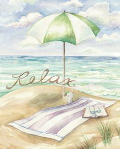 We specialize in publishing open-edition decorative art prints for the home furnishings and gift markets. We're a wholesale business with distribution of our art to numerous retail store chains, catalog/mail order companies, and independent shops. Scenery Pictures, Flower Pictures, Beach Watercolor, Beach Images, Beach Scenes, Beach Art, Strand, Illustrations, Canvas Art