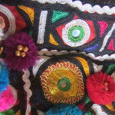 Traditional Indian embroidery from Kutch. On our creative textiles holiday to India we spent a day with local ladies learning how to stitch shisha and traditional indian textile embroidery techniques. For more information go to www.colouricious.com