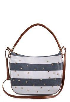 Cato Fashions Studded Stripe Crossbody #CatoFashions
