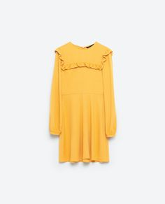 Image 8 of MINI DRESS WITH FRILLS from Zara
