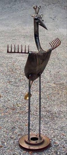 Garden tool art