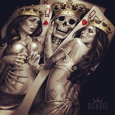 King and queens tattoo idea