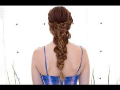 Stacked Dutch Braid - YouTube