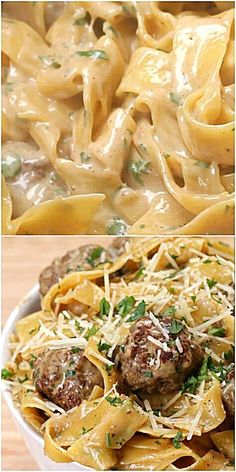 Stop Eating That Crap For Dinner And Make This Swedish Meatball Pasta Dish They will be thanking you every moment of dinner. - One-Pot Swedish Meatball Pasta dishes recipes Stop Eating That Crap For Dinner And Make This Swedish Meatball Pasta Dish Pastas Recipes, Beef Recipes, Cooking Recipes, Cheap Recipes, Pasta Recipes Meat, Delicious Pasta Recipes, Pasta Recipes For Dinner, Egg Noodle Recipes, Snacks