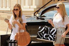 Lauren Conrad and Lo Bosworth