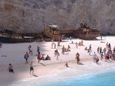 Zakynthos, Shipwreck Beach...30 incredible and tragically beautiful images of the world's most haunting shipwrecks