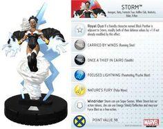 Storm #020 Marvel 10th Anniversary Heroclix Singles - Marvel Heroclix 10th Anniversary - HeroClix - Miniatures