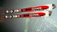 Pareja De Esquis Esquies - Salomon 185 cm series 3s-buen estado