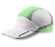 Best Gear for Nighttime Runs: Brooks Running Nightlife Mesh Cap, $24. #SelfMagazine