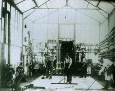 George Méliès in his studio in Montreuil.