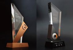 This series of trophy design was combined with metal and crystal ,use these two different materials to make the figure more outstanding and unique. Trophies And Medals, Custom Trophies, Acrylic Trophy, Plaque Design, Advertising Awards, Acrylic Awards, Trophy Design, Award Plaques, Exhibition Booth Design