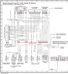 rear fuse box diagram pelican parts technical bbs motor rh pinterest com porsche 997 engine wiring diagram porsche 993 engine wiring diagram