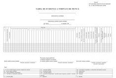 Noul Tabel de evidenta a timpului de munca, aprobat / Editorial / Monitorul fiscal FISC.md Monitor, Editorial, Google