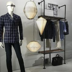 "BANANA REPUBLIC, 5th Avenue, New York, ""Ways to be a better dressed man"", photo by MannequinzNYC, pinned by Ton van der Veer"
