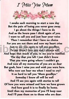 In loving memory/card/keepsake/Grave/mum/nan/auntie for any relative in Home, Furniture & DIY, Celebrations & Occasions, Memorials & Funerals Mother Daughter Quotes, Mother Quotes, Mom Quotes, Mom Sayings, Life Quotes, Mom In Heaven Quotes, Mother's Day In Heaven, Mom I Miss You, Mom Poems