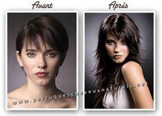 Extensions for very short hair hair i 3 pinterest short extensions for very short hair see more les extensions de cheveux avant et aprs pmusecretfo Image collections