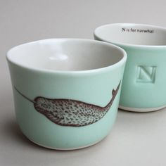 Nautical w/ subtle Narwhal hint for our bathroom would make all my dreams come true <3