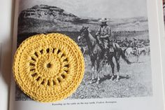 Wagon wheel coasters pattern. thanks so for sharing xox