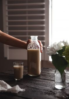 Chai, Pear and Fig Smoothie