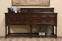 antique oak sideboard buffet - Google Search Sideboard Buffet, Entryway Tables, Cabinet, Google Search, Antiques, Storage, Furniture, Home Decor, Clothes Stand