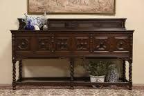 antique oak sideboard buffet - Google Search
