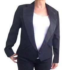 New Trending Outerwear: Womens Texas Tuxedo Jacket, Cropped Western Style (16). Womens Texas Tuxedo Jacket, Cropped Western Style (16)  Special Offer: $48.99  255 Reviews Our handsome one button Texas tuxedo jacket is perfect for any occasion with a western theme. The front has button holes on both sides that are closed by inserting two large satin buttons that...