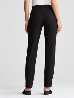 Washable Stretch Crepe Slim Pant-EETK-P0396