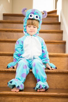 Monsters Inc. Halloween Costumes #lifewithtracy