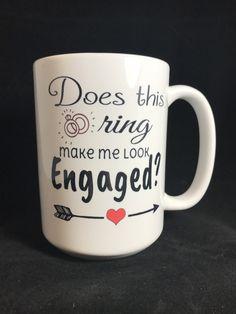 Bridal Shower Gifts For Bride, Elegant Bridal Shower, Bridal Shower Cakes, Bridal Gifts, Engagement Party Gifts, Engagement Gifts For Couples, Engagement Celebration, Engagement Mugs, Engagement Ideas
