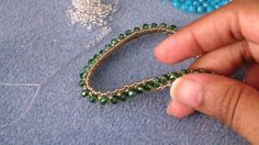RAW Bracelet Tutorial by JRPDesigns